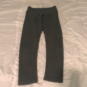 Gray leggings/sweatpants from old navy size medium